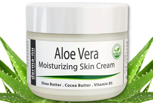 Aloe facial moisturizer