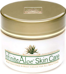 InfiniteAloe Aloe Vera Face & Body Cream
