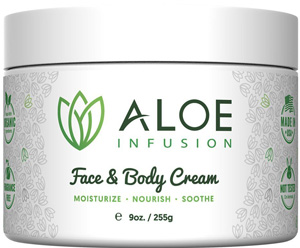 best aloe vera cream for face