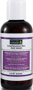 Organic Face Wash for Sensitive Skin