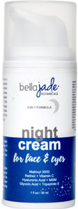 Bella Jade Night Cream for Face and Eyes