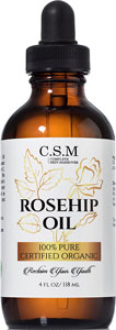 organic rosehip oil for face