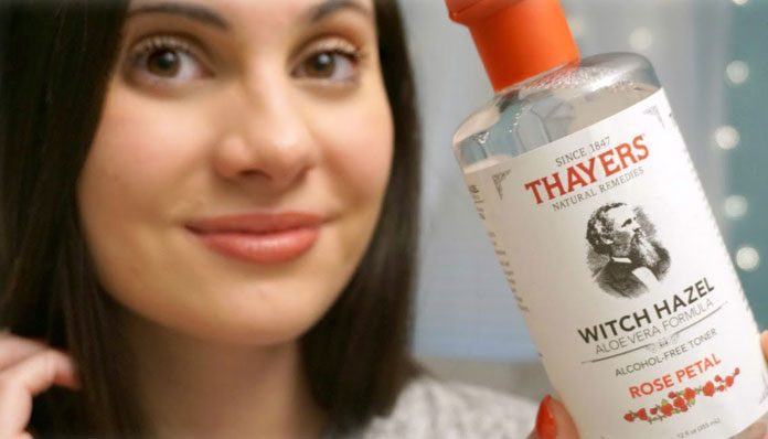 best witch hazel toner for oily skin and acne