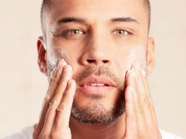best face scrub for men with dry skin