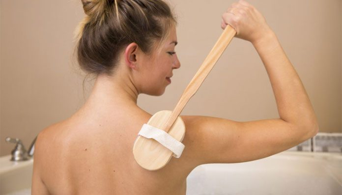 best skin exfoliating back scrubber for adults