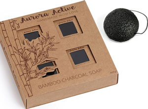 New Leaf Activated Charcoal Soap