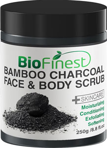 best activated charcoal face and body scrub