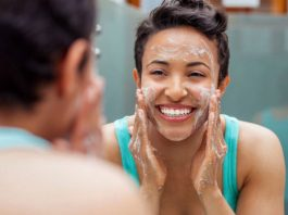 best gentle exfoliating face wash for sensitive skin