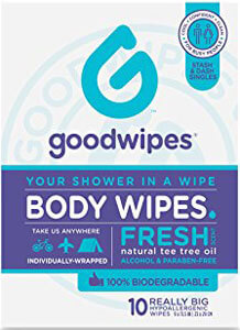 body cleansing wipes
